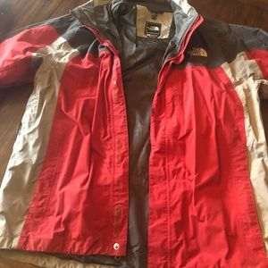 Men's north face jacket- shell ONLY!